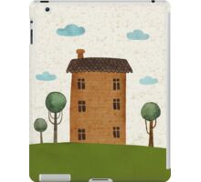 House in the сlouds iPad Case/Skin