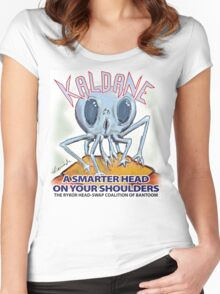 Kaldane: A Better Head On Your Shoulders Women's Fitted Scoop T-Shirt