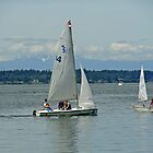 South Puget Sound Sailing by Robert Meyers-Lussier