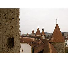 Murten City Walls Photographic Print