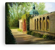 In The Gardens of San Souci Canvas Print