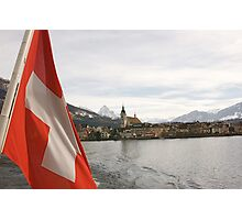 Lake Zug Photographic Print