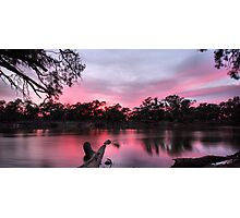 Pink Reflections Photographic Print