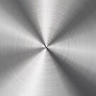 Stainless Steel Look Shiny Metallic Pattern by artonwear