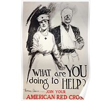 What are you doing to helpJoin your American Red Cross Poster