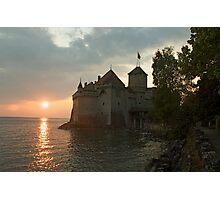 Chateau Chillon, Switzerland Photographic Print