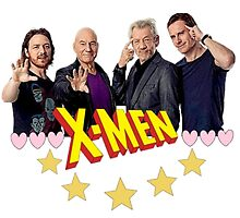 The X-Men Boys by Saara Rissanen