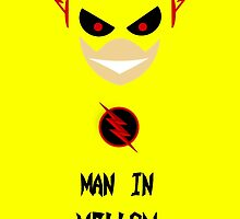 Man In Yellow - The Reverse Flash by companylogos93