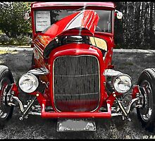HOT DAY FOR A HOT ROD by Eric langley
