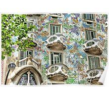 Gaudi Windows  Poster