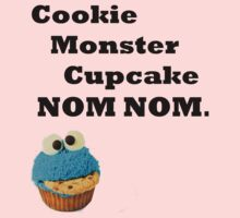 Cookie Monster Cupcake. by LucyMerrylin