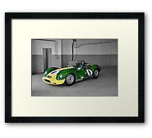 Lister Race Car Framed Print