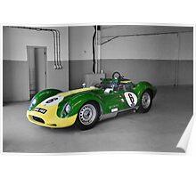 Lister Race Car Poster