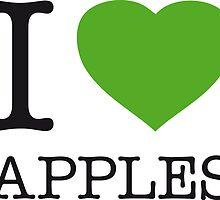 I ♥ APPLES by eyesblau