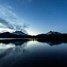 Sparks Lake Oregon by Toby Harriman