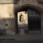 Cambridge college entrance by michael mulcahy