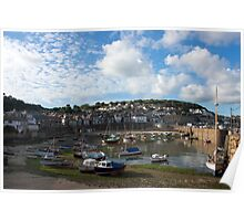 Mousehole Harbour Poster