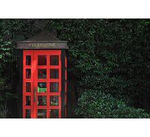 Tokyo Phone Booth Photographic Print