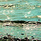 The Gentle Waves Reach the Shore by Morag Bates