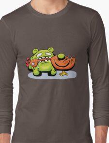 mmmmm chicken Long Sleeve T-Shirt