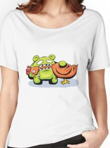 mmmmm chicken Women's Relaxed Fit T-Shirt