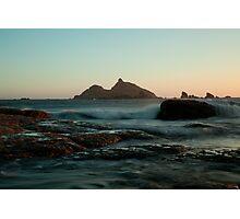 Castle Rock Pastel Glow Photographic Print