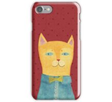 Mr. Cat iPhone Case/Skin