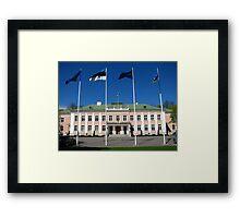 Presidential Palace Framed Print