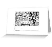 Nichols Arboretum #3 Greeting Card