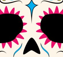 Sugar Skull CMYK ~ Sticker Sticker