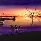 Menindee Sunset by Sue Hodge