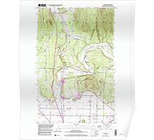 USGS Topo Map Washington State WA Alger 239789 1998 24000 Poster