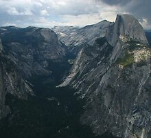 The Northeastern Valley, Glacier Point, Yosemite National Park, CA 2012 by J.D. Grubb