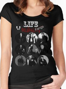 Life Ruiners - Fangs Edition Women's Fitted Scoop T-Shirt
