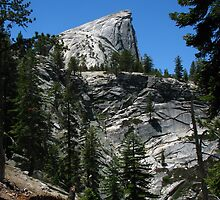 Approaching Half Dome, Yosemite National Park, CA 2012 by J.D. Grubb