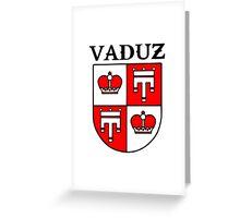 Vaduz  Liechtenstein Greeting Card