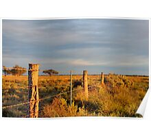 Fence Line II Poster
