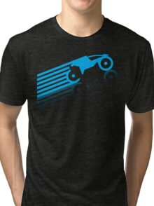 Grid Riders (B) Tri-blend T-Shirt