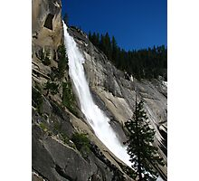 The Curve of Nevada Fall, Yosemite National Park, CA 2012 Photographic Print