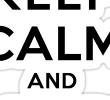Keep Calm and Adore Elijah From Vampire Diaries LS Sticker