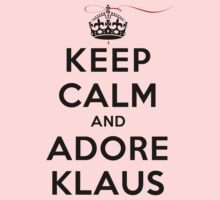 Keep Calm and Adore Klaus From Vampire Diaries LS T-Shirt