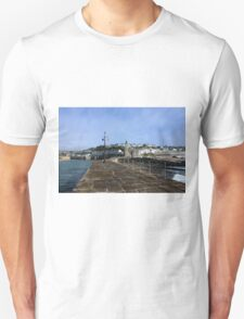 Porthleven From The Breakwater T-Shirt