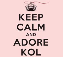 Keep Calm and Adore Kol From Vampire Diaries LS by rachaelroyalty