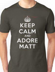 Keep Calm and Adore Matt From Vampire Diaries DS Unisex T-Shirt