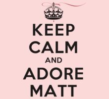 Keep Calm and Adore Matt From Vampire Diaries LS T-Shirt