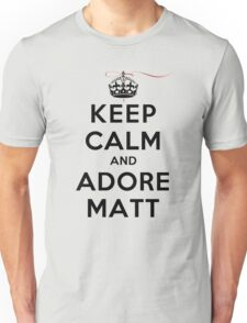 Keep Calm and Adore Matt From Vampire Diaries LS Unisex T-Shirt