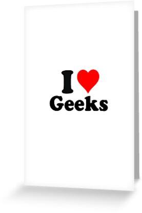 I love geeks by erndub