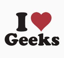 I love geeks Kids Clothes