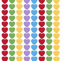 Love Hearts Emoji Galore by Winkham