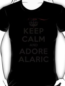 Keep Calm and Adore Alaric From Vampire Diaries LS T-Shirt